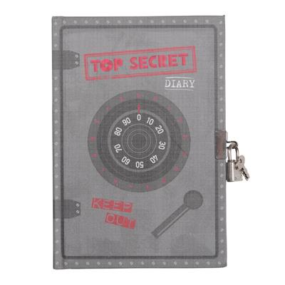 Tiger Tribe Top Secret Lockable Diary