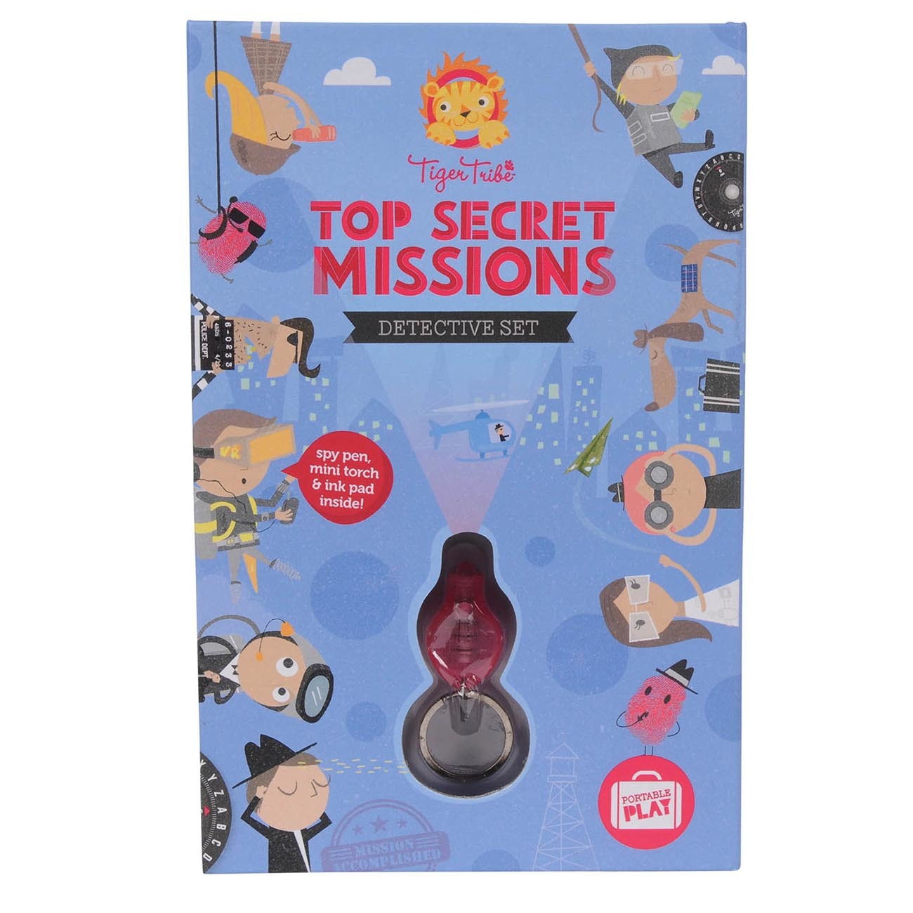 Tiger Tribe Top Secret Missions -Detective Set