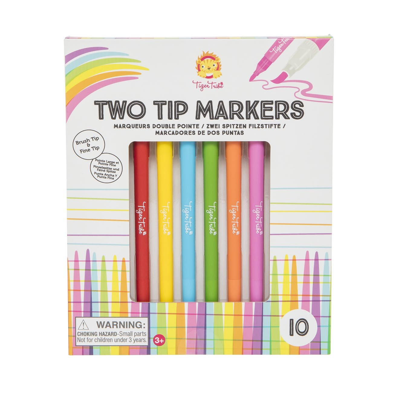 Tiger Tribe Two Tip Markers