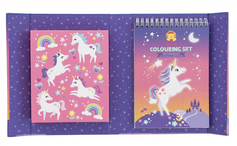 Tiger Tribe - Unicorn Magic Colouring Set