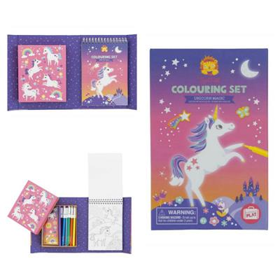 Tiger Tribe Unicorn Magic Colouring Set