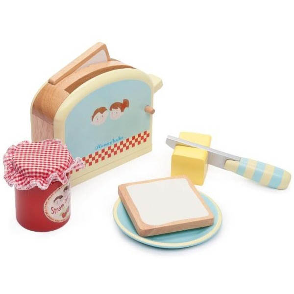 Le Toy Van-Kids Wooden Toys-Toaster Set