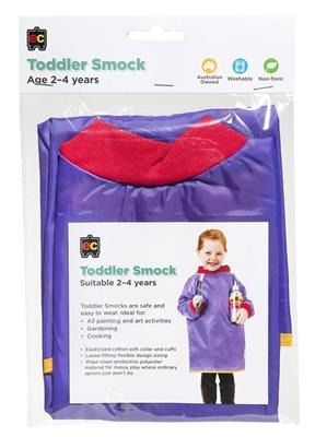 Toddler Artist Smock Purple Age 2-4