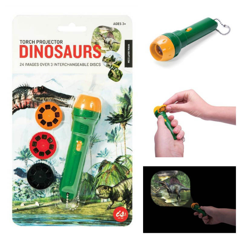 IS Dinosaur Torch Projector