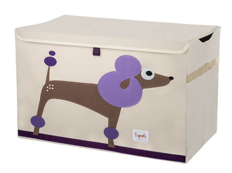 3 Sprouts Toy Chest - Poodle