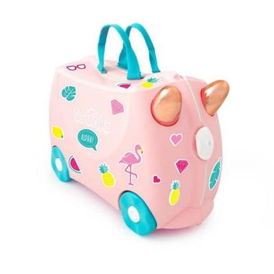 Trunki Kids Suitcase Flossi Flamingo