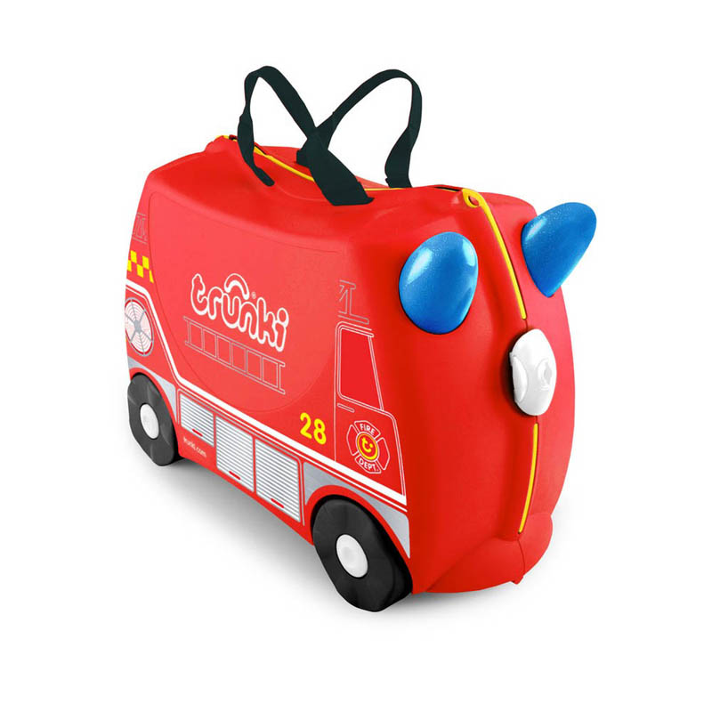 Trunki Kids Suitcase Fire Engine Frank