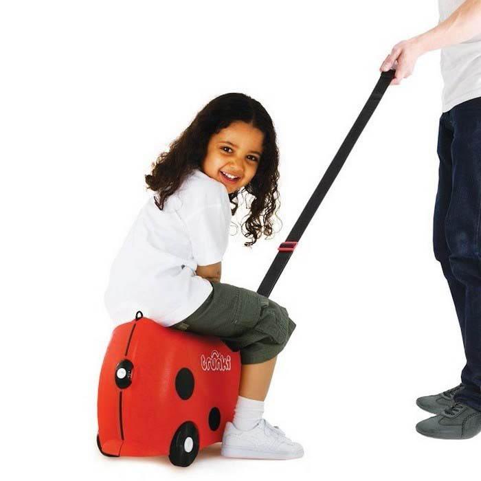 Trunki Kids Suitcase - Harley Ladybug - ride on suitcase