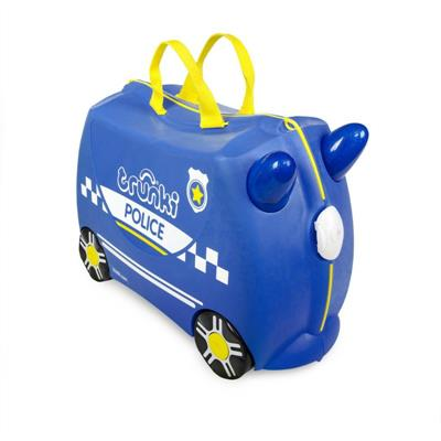 Trunki Kids Suitcase Percy Police Car