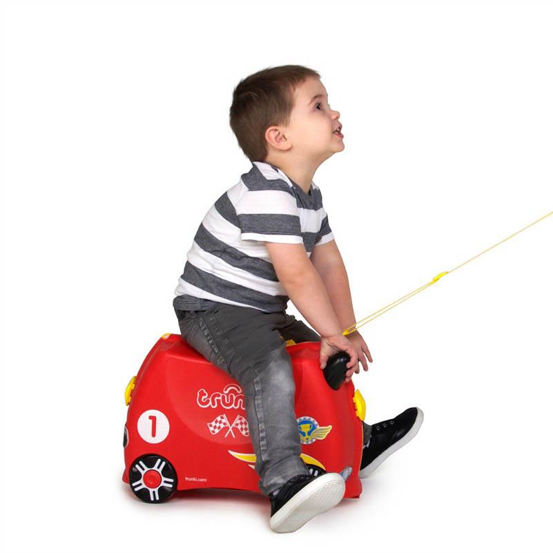 Trunki Kids Suitcase - Rocco Race Car