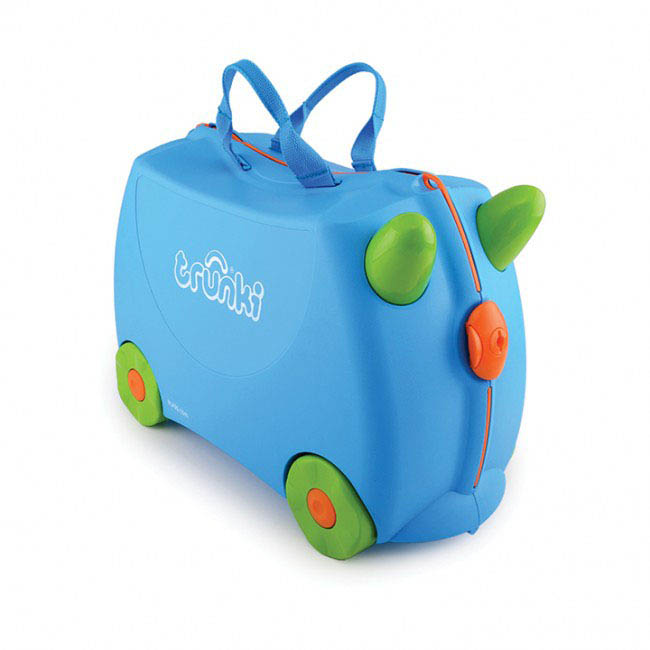 Trunki Kids Suitcase - Terrance Blue