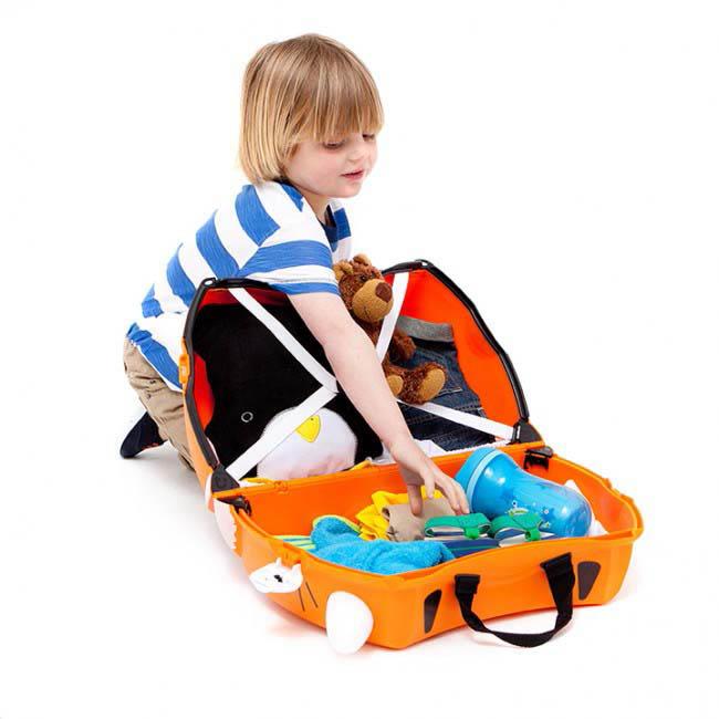 Trunki Kids Suitcase - Tipu Tiger