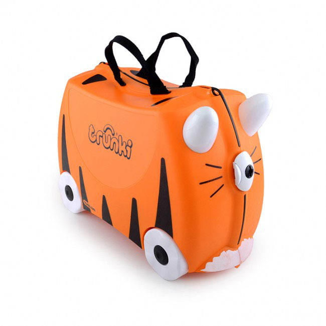 Trunki Kids Suitcase - Tipu Tiger