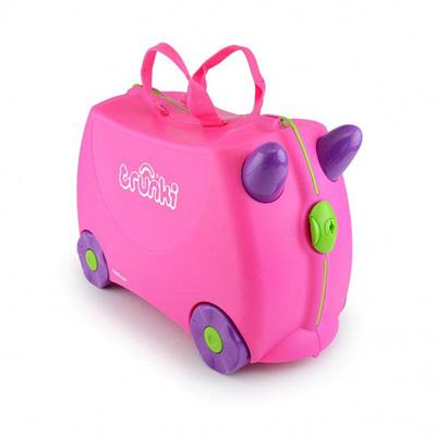 Trunki Kids Suitcase - Trixie Pink