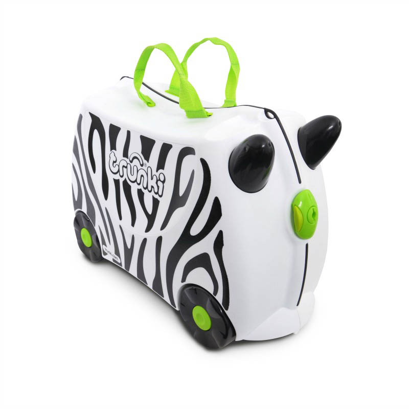 Trunki Kids Suitcase Zimba Zebra