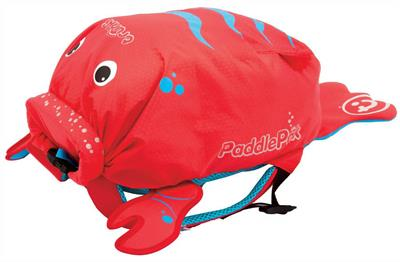 Trunki PaddlePak - Pinch the Lobster Medium