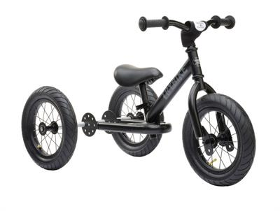Trybike Steel Black 2 in 1 Balance Bike