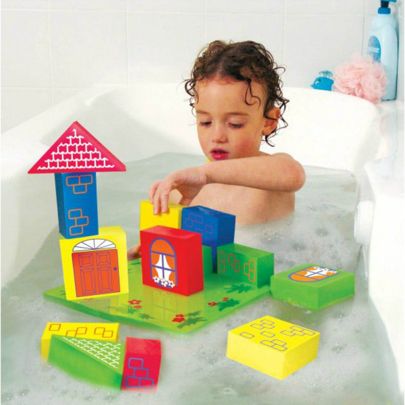 TubFun - Floating Bath Blocks & net storage bag