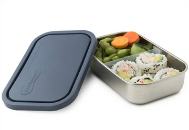 U Konserve Divided To-Go RECTANGULAR-Ocean