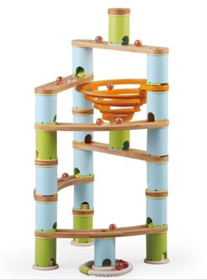 Udeas Bamboo Build & Run Marble Run Advanced Set