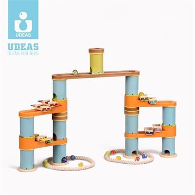 Udeas Bamboo Build & Run Mini Music Set