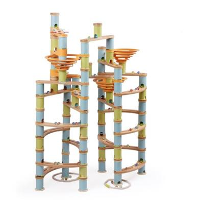 Udeas Bamboo Build & Run STEAM Mega Marble Run