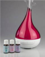 Lively Living Aroma Bloom Fuscia Ultrasonic Vaporiser