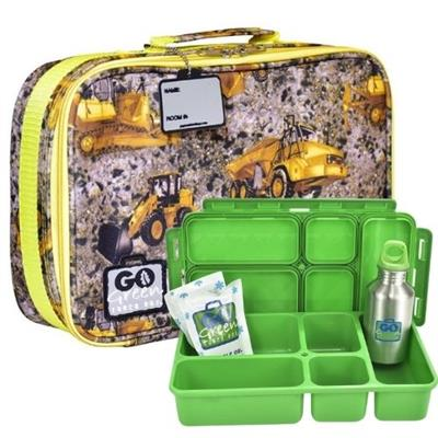 Under Construction Go Green Lunch Box Set