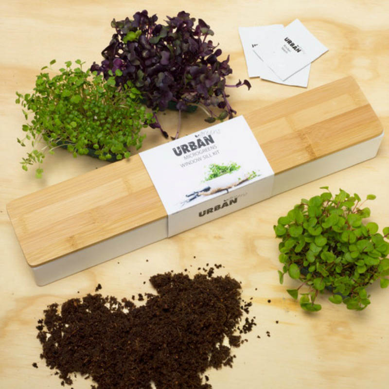 Urban Greens - Microgreens Window Sill Box