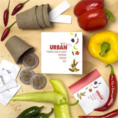 Urban Greens - Some Like It Hot Grow Kit