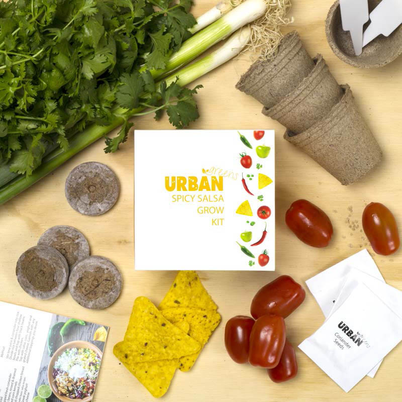 Urban Greens - Spicy Salsa