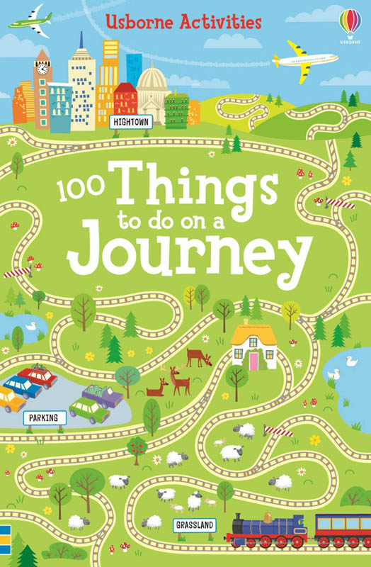 Usborne 100 Things To Do On A Journey Book