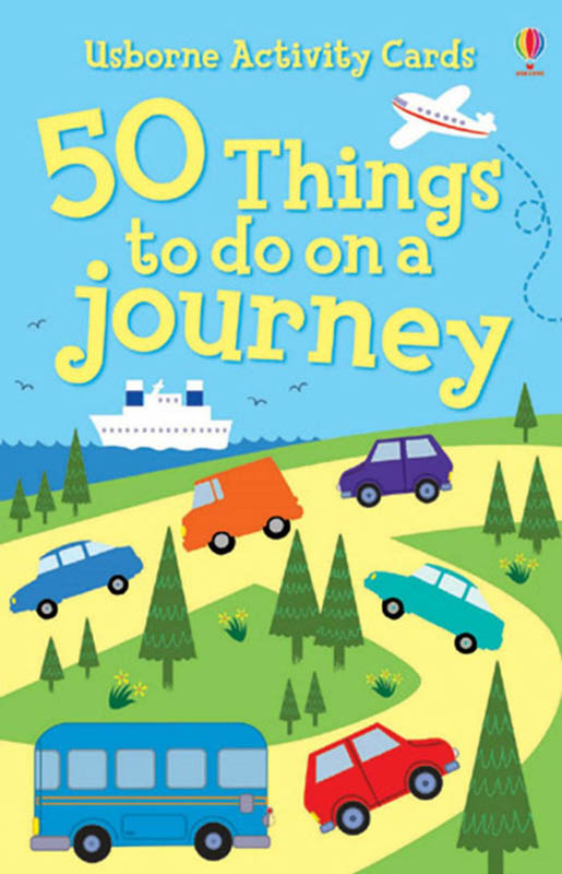 Usborne - 50 Things To Do On A Journey Activity Cards