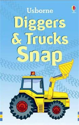Usborne Diggers and Trucks Snap Cards