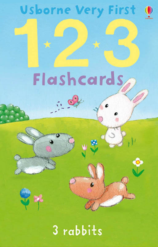 Usborne Very First 123 Flashcards