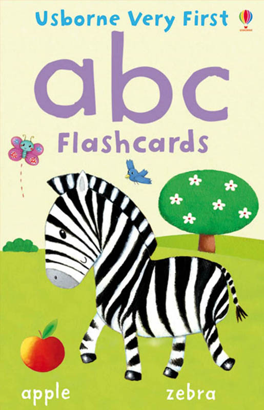 Usborne Very First - abc Flashcards