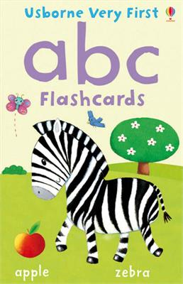 Usborne Very First abc Flashcards