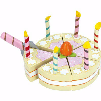 Le Toy Van-Wooden Toys-Vanilla Birthday Cake