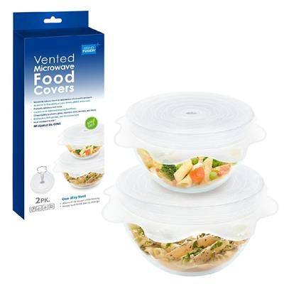 Vented Microwave Food Covers