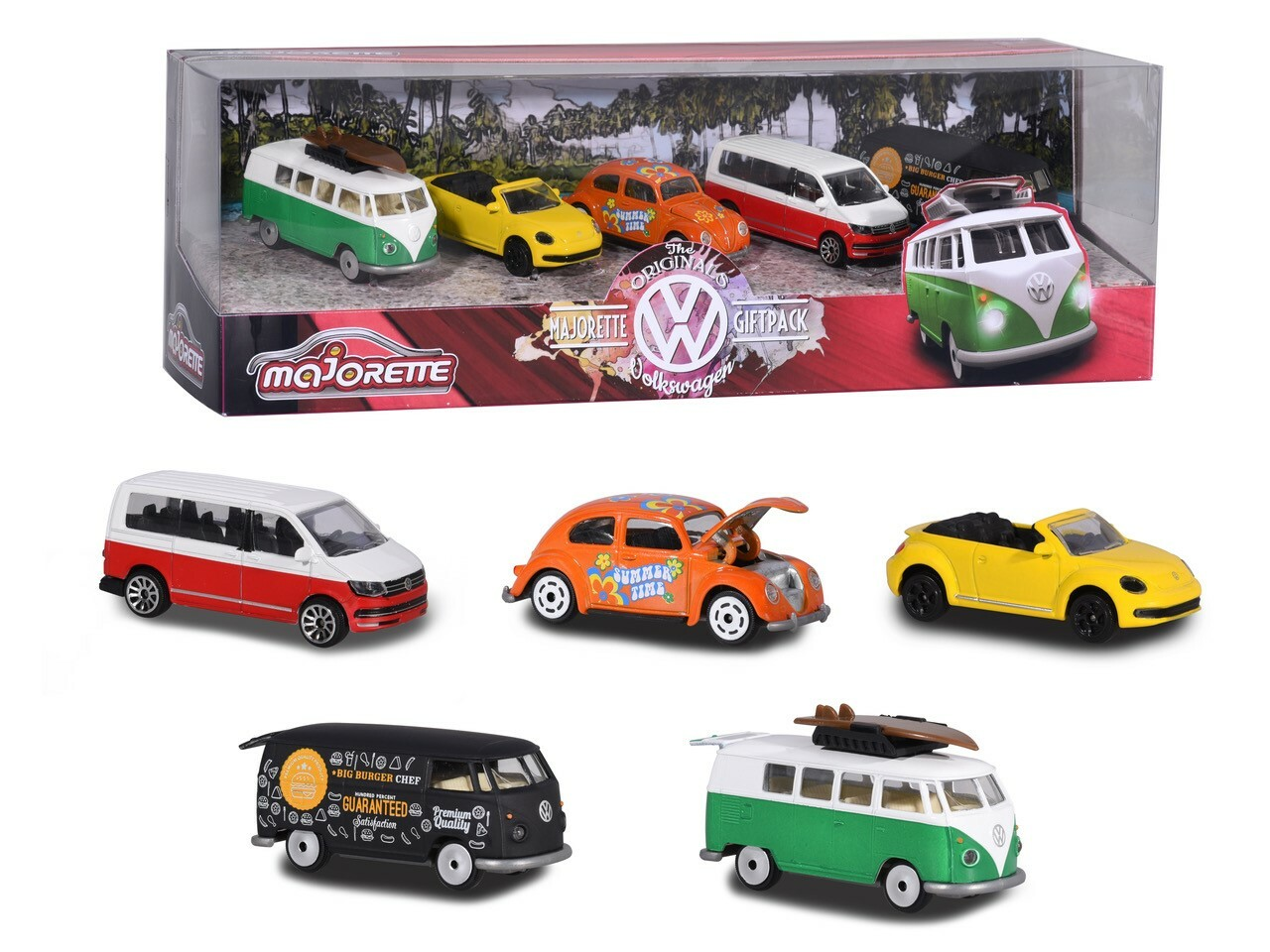Volkswagen 5 piece Giftpack | Die Cast Toy Cars