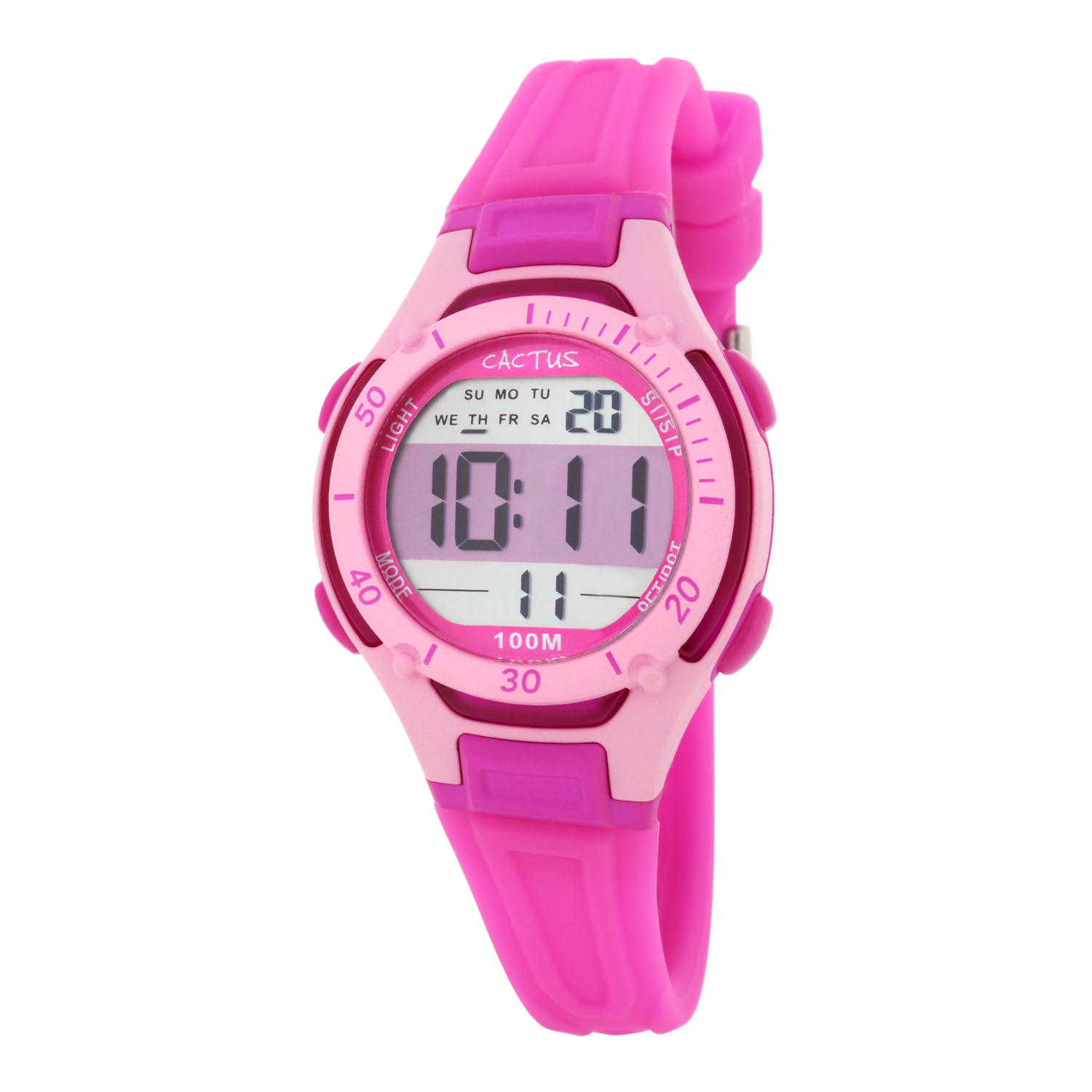 Cactus Wave Tech Digital Kids Watch
