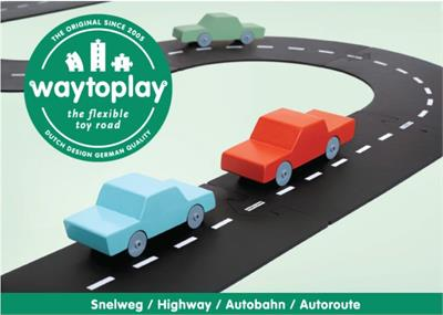 Way to Play Highway Set 24pc