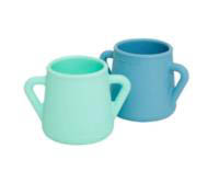 Wean Meister Sippy Skillz  Cups - 2 pack - Mint&Teal