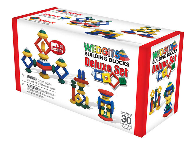 Wedgits-Construction Toys-Deluxe Set (30pcs)