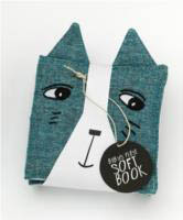 Wee Gallery Cloth Books-Friendly Faces In The Garden