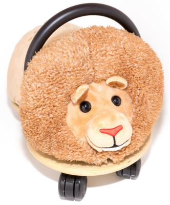 Wheely Bug Ride On Plush Lion Combo