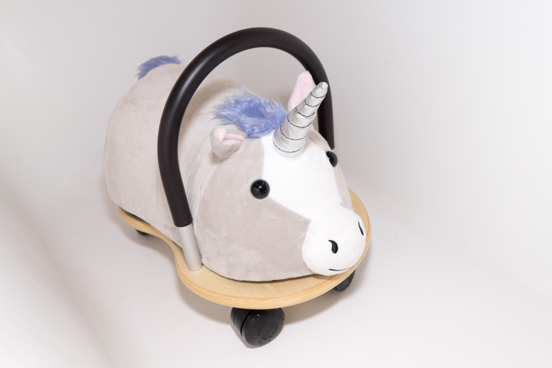 Wheely Bug Ride On Plush Unicorn Combo