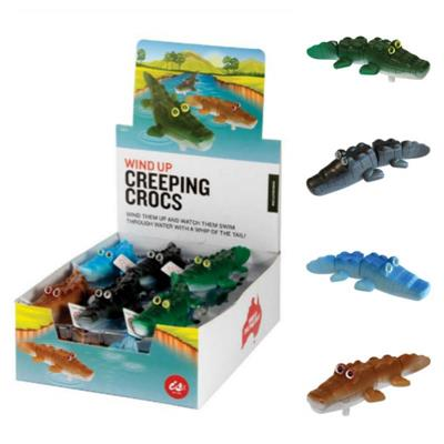 Wind Up Creeping Crocs