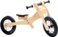 Wooden 4-in-1 Trybike - Brown Trim Stage 2