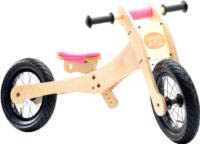 Wooden 4-in-1 Trybike - Pink Trim stage 2
